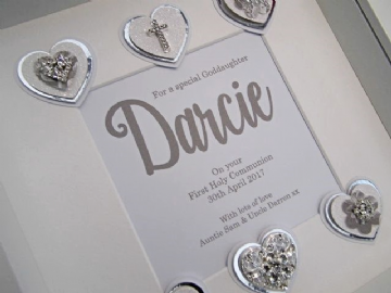 Goddaughter's First Communion Gift Frame